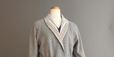 小倉織ガウン・コー Kokura-ori gown coat